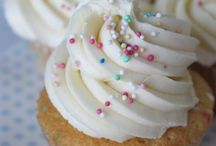 cup cakes + frosting recipe