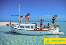 LOVE, FUN & NIGHT BOAT / SABARCADEFORMENTERA offers to you the opportunity to live and discover one of the most beautiful island of the mediteranean sea by renting the original balearic boat: the llaüt.  Visit our website and come with us to enjoy Formentera: http://www.sabarcadeformentera.com