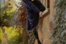okno w malarstwie