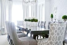 Dining rooms that make you want to host dinner parties  / Dining room decor / by Trina Cokinos