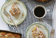 Cinnamon Rolls / The quest to learn a cinnamon roll recipe off by heart