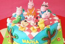 Fiesta Pepa pig / Ofrecemos las mas novedosas y lindas fiestas temáticas de Bogotá, llámanos al 3163190898.