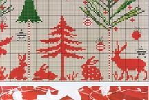 - xmas cross stich -