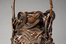Weaving basket art