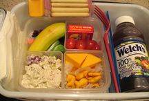 Lunchbox Idea's for the kiddos! / Lunch Time