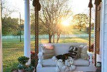 Pallet porch bed
