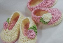 Crotcheted Slippers / Slippers for the young & old