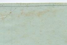 Carte macchiate / Vogliamo parlare del fascino delle carte? Antiche, moderne, rovinate, macchiate...