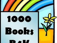 """Let 1000 Books Bloom! / 1000 Books programs encourage families to read at least 1000 books before their child enters K. It is a great """"stealth"""" or """"passive"""" program that encourages frequent use of the library and supports a child's early literacy learning! WIn-win!"""