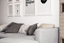 Black and white art/decor
