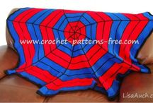 Spiderman Inspired Free Crochet Patterns