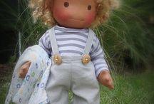 handmade natural doll
