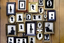 Collectible...Silhouettes! / by Nina Baylis