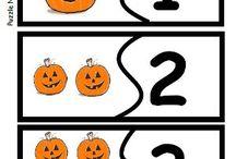 preschool: fall / thanksgiving / halloween. / by Amanda Greer