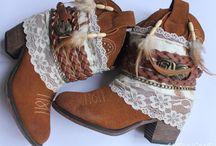 Customizar botas / Ideias de como customizar, recuperar e reformar botas para o inverno