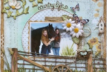 Pretty Scrapbook Pages