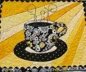 pod čajík, kávu, tanier