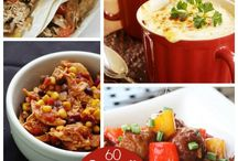 60 crock pot dishes
