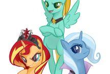 efil my little pony