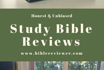 Study Bibles / Read Study Bible Reviews and find the best study bible for you. Whether your looking for the top study bibles like niv study bibles, nlt study bibles, or life application study bibles, you can read my unbiased and honest reviews here.