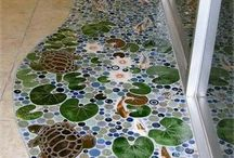 Mosaiikkitöitä / Mosaic works