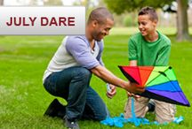 We Dare You: July Dare / Ready for another challenge? This month you can try 3 for a chance to win. Share a photo, take quiz or share your opinion. wedareyoutoshare.com / by Source4Women