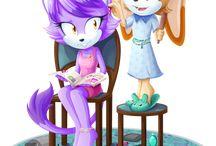 Freundschaft Sonic und Co