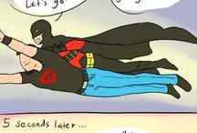 Bat & Super & Flash