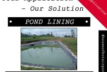 Your Application - Our Solution ! / We are the solution for plastic fabrication, printing and packaging, pipe construction, roofing, civil engineering, tunneling, waterproofing membranes, process heat, tarpaulins, billboards, flooring and much more.