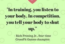 Fitness Motivation / Quotes about staying fit and healthy. :)