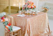 Modern Copper / My Bellissima | NJ & NYC Wedding Planner www.mybellissima.com