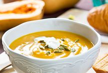 Dips, soups and salads