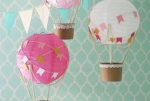 Hot Air balloon party ideas