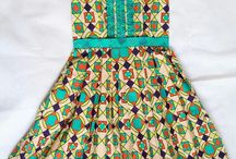 Robe africaine pour fille