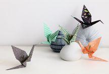 Origamis / Des papiers origamis uniques créés par des d'artistes !