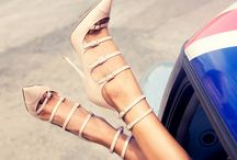 Strappy Shoe Love / Shoes I'm dreaming about / by Sandra Mercer