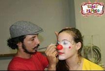 Oficina de palhaço/ clown workshop