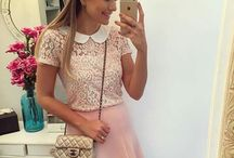 Pink Lace Blouse 0