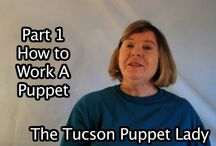 Basic Puppeteering Tips / Information about how to use a puppet to make it really come alive.  How to operate a puppet.  How to make the puppet talk.  How to work the mouth to make it look realistic.  How to use a puppet rod to add action with the puppet.  Hand and rod puppet tips.