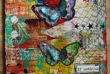 Art journaling - inspiration