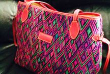 ::: S a c r e d   G e o m e t r y ::: / Handbags, One of a kind styles and textures, handmade in Central America