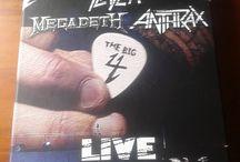 """The Big 4 Limited Edition / Zdjęcia limitowanej edycji znakomitego koncertu """"The Big 4"""". który Wielka Czwórka dała w 2010 roku w stolicy Bułgarii."""