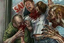 Zombi / Un zombi es la representación de un cadáver que de una u otra manera puede resucitar o volver a la vida. Según una creencia popular, se dice que una persona que es mordida por un zombi, se convierte en zombi.