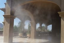 Misting in Arizona / Patios cooled with a misting system in Arizona