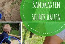 Sandkasten DIY