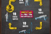 Krop øvelser