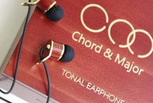 Best Earphones / Every Note Matters. Chord & Major tonal earphones have a style and sound that is unsurpassed in the audio world.  Visit www.sedoaudio.com