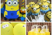 Party - Despicable Me / by Winona Thomley