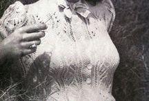 Vintage knit