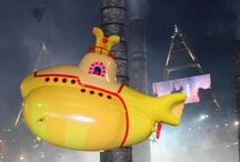 London Olympics Opening Ceremony / We we commisioned to construct and fly 2 large yellow submarines in the Opening Ceremony
